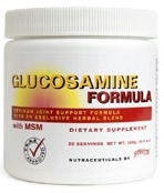 Glucosamine Formula by Symmetry natural herbal health joint arthritis pain MSM TS602