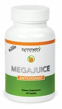 Mega Juice anti-oxidant by Symmetry nautral health formula carotenoids bioflavonoids nutrirents NP122
