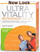 Ultravitality NutraPack by Symmetry Direct daily vitamin health natural caplets NP120
